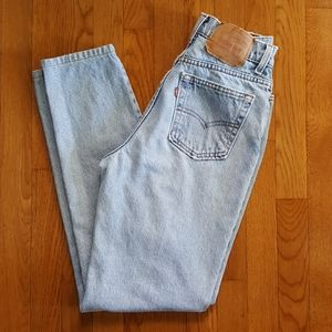 Vintage 90's Levi's 512 High Waist Jeans Slim Fit